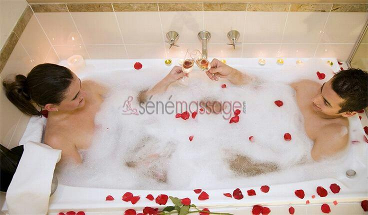 Jacuzzi en couple !!!