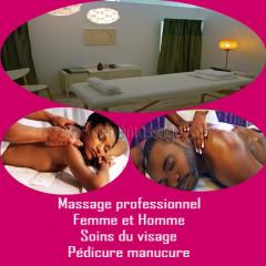 Massage au salon ou à domicile avec georges massage